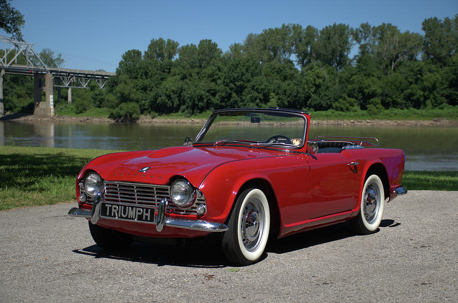 1962 Triumph TR4 by Tim McCullough