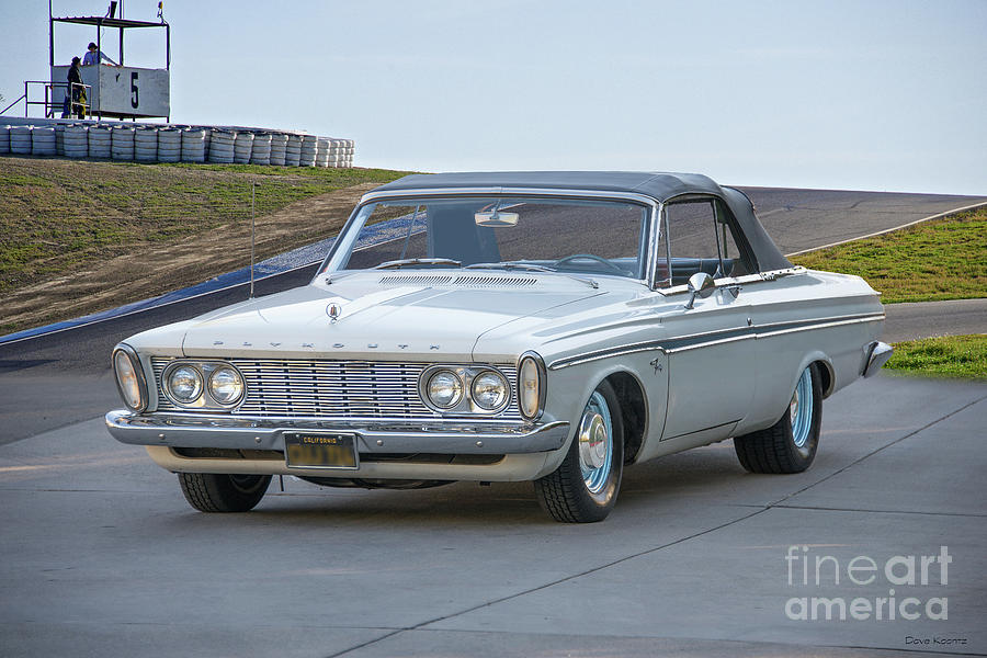 1963 Plymouth Fury Convertible