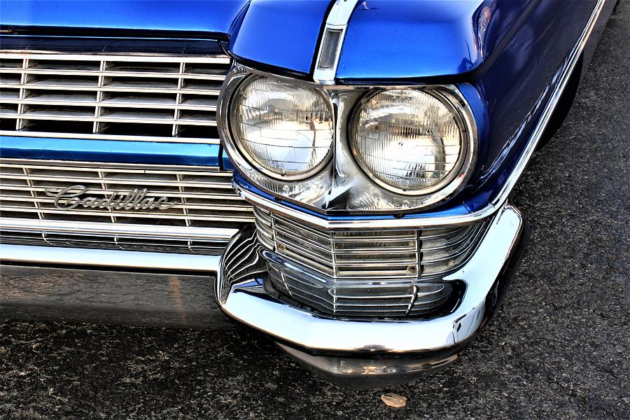 1964 Cadillac Coupe De Ville Front Left Side With Logo On Grille
