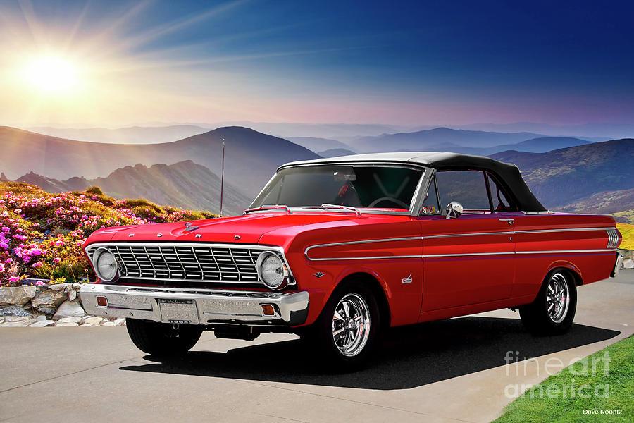 1964 Ford Falcon Futura Convertible I