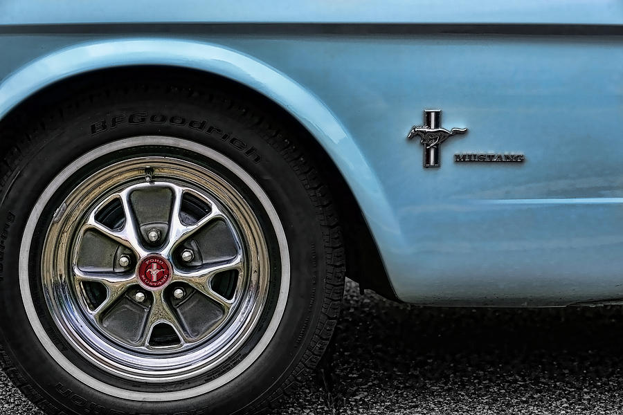 1964 Photograph - 1964 Ford Mustang by Gordon Dean II