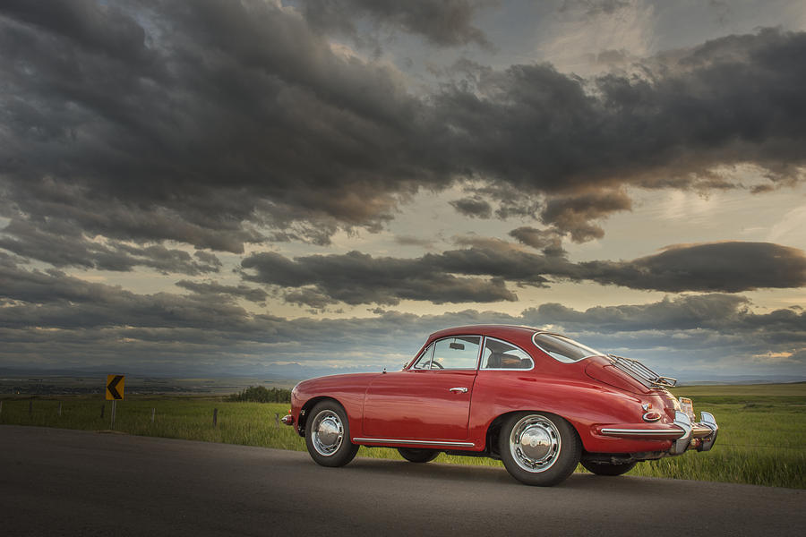 1964 Photograph - 1964 Porsche 356c by Kevin Johnston