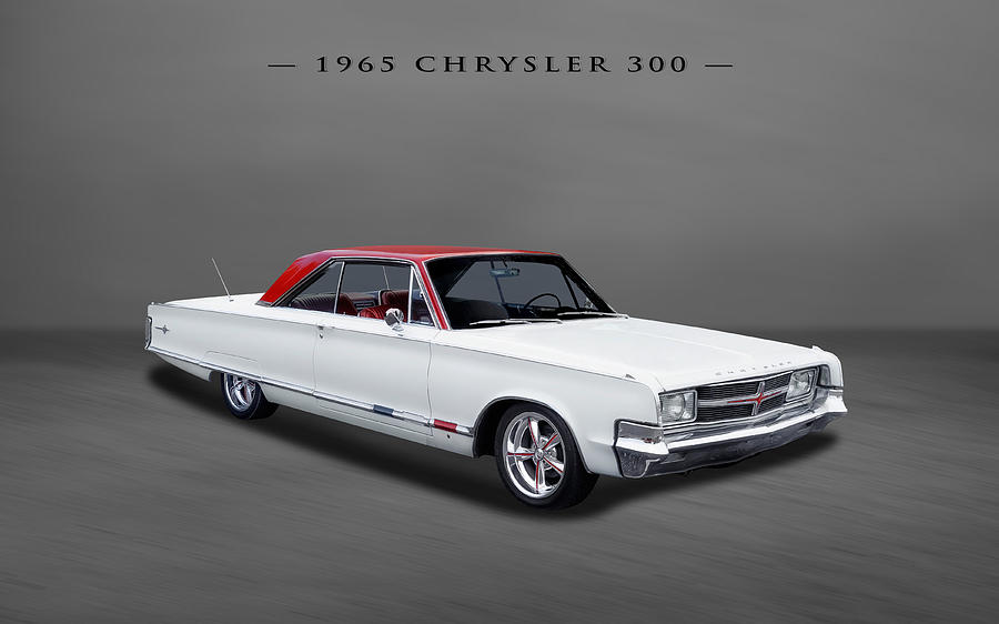 1965 Chrysler 300 2-door Hardtop Photograph by Frank J Benz