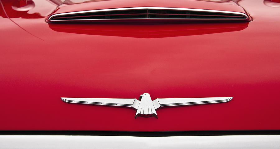 Ford Photograph - 1965 Ford Thunderbird Emblem by Glenn Gordon
