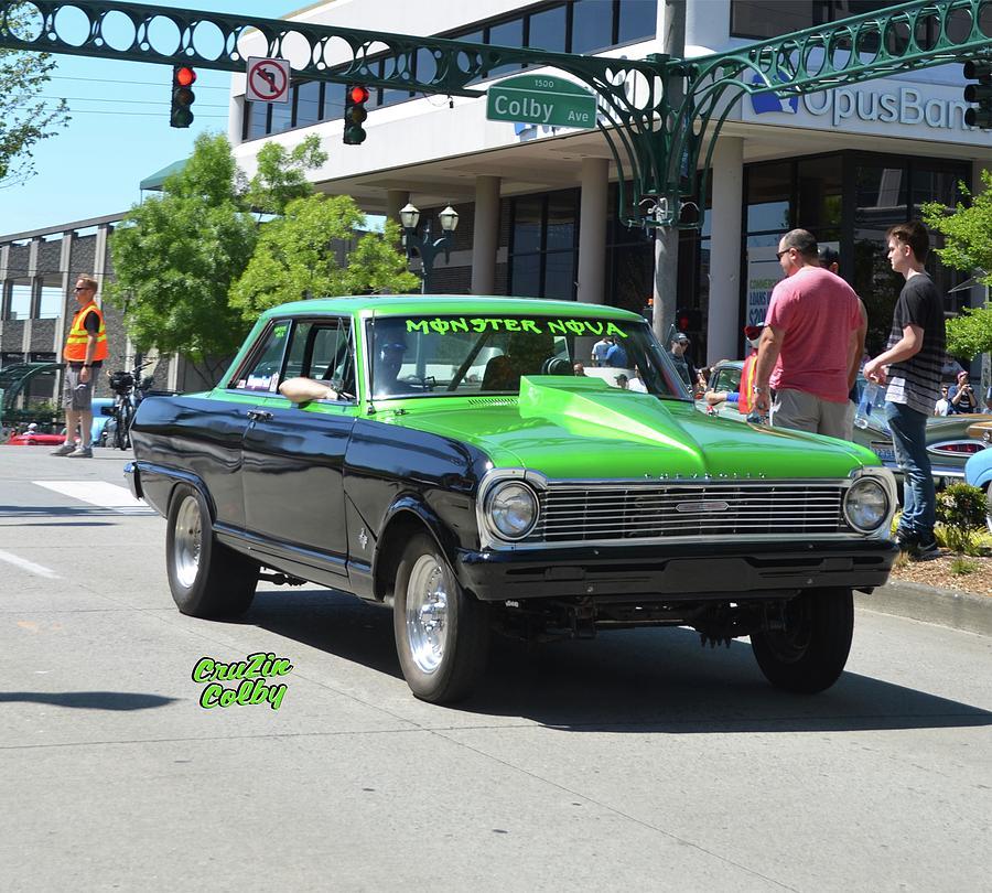 Monster Nova Home Photograph By Mobile Event Photo Car Show - Monster car show