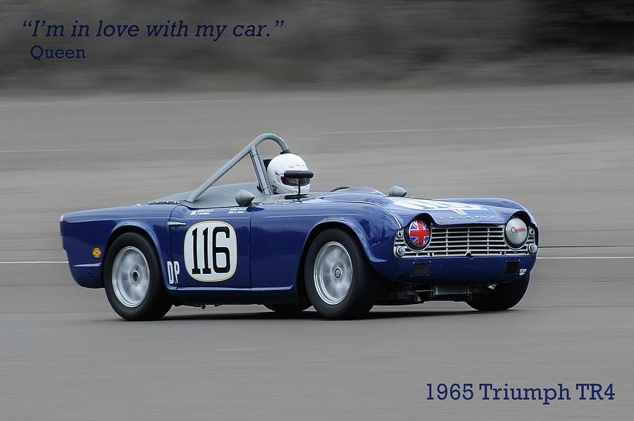1965 Triumph Tr4 Photograph By Patrick Krohn