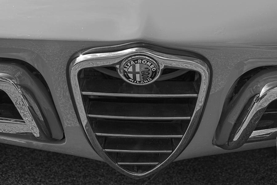 1966 Photograph - 1966 Alfa Romeo Duetto by Nick Gray