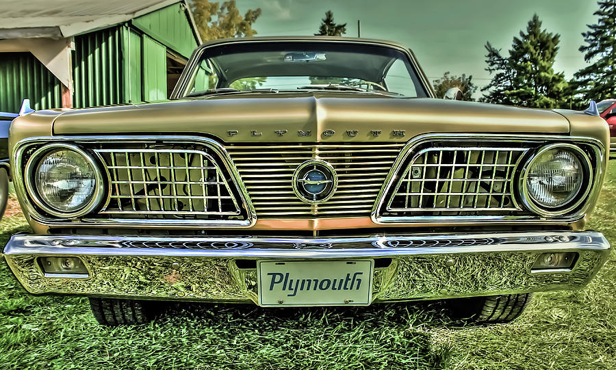 1966 Barracuda Front by Karl Anderson