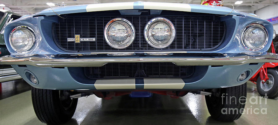 Ford Photograph - 1967 Shelby Gt500 by Steve Gass
