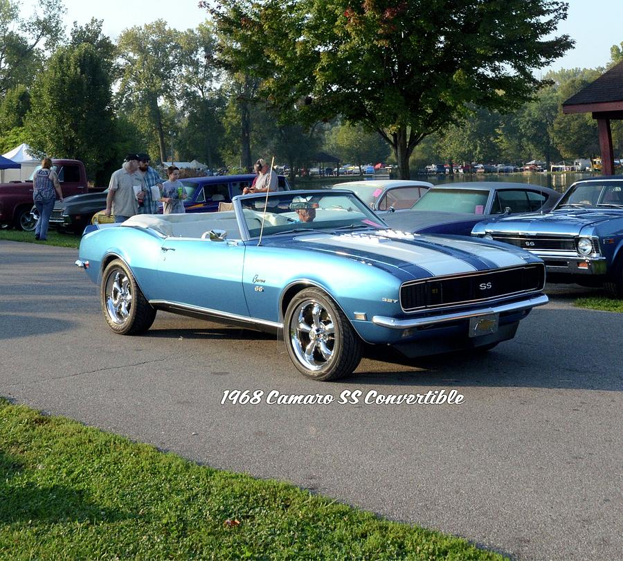 1968 Camaro Ss Convertible Kunkle by Mobile Event Photo Car Show Photography
