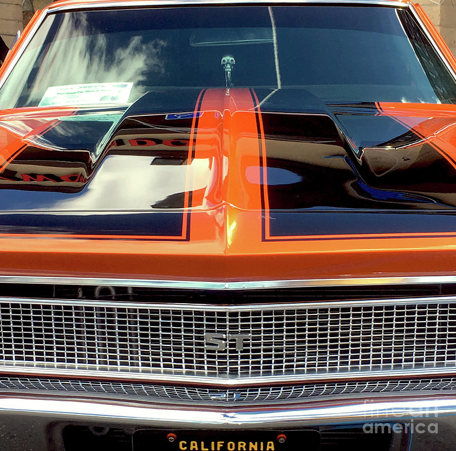 1968 Chevy Chevelle Ss Grille Photograph By John Castell Chevrolet