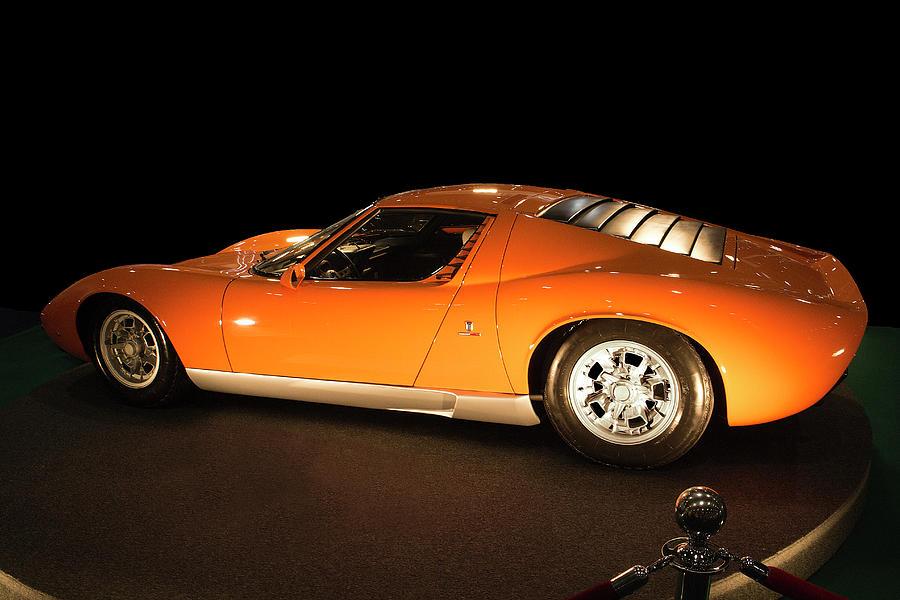 1968 Lamborghini Miura P400 Photograph By Peter Lloyd