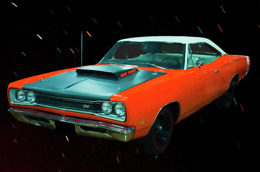 1969 1/2 Dodge Coronet A12 Superbee Digital Oil