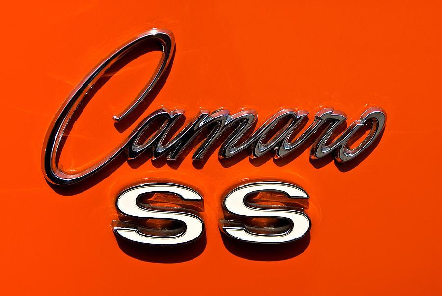 1969 Camaro Ss Badge Photograph
