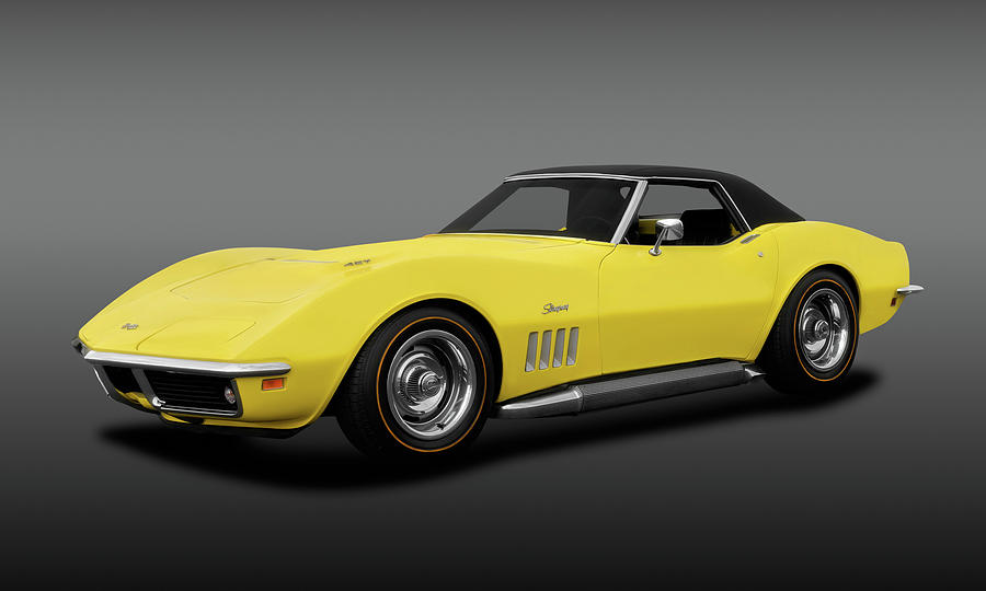 Corvette Stingray 1969 >> 1969 Chevrolet Corvette Stingray L71 427 Convertible 1969corvettestingray427fa183691 By Frank J Benz