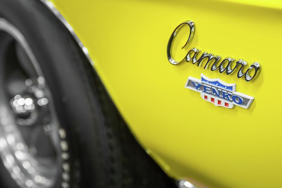 1969 Chevrolet Yenko Camaro Emblem by Ron Pate