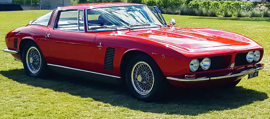 1969 Iso Grifo, quarter by E Karl Braun
