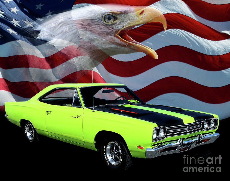1969 Plymouth Roadrunner Photograph - 1969 Plymouth Road Runner Tribute by Peter Piatt