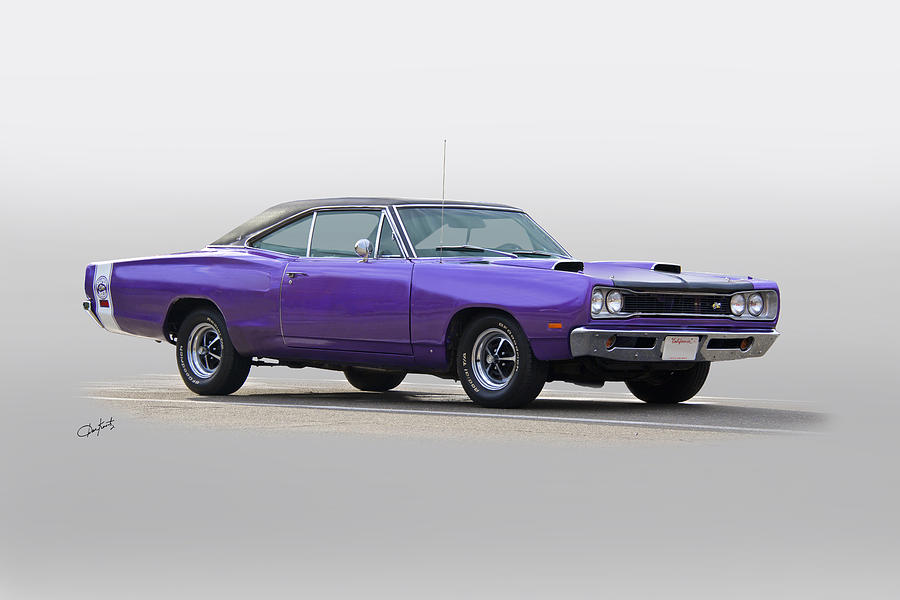 1969 Plymouth Super Bee Mopar Muscle Photograph By Dave