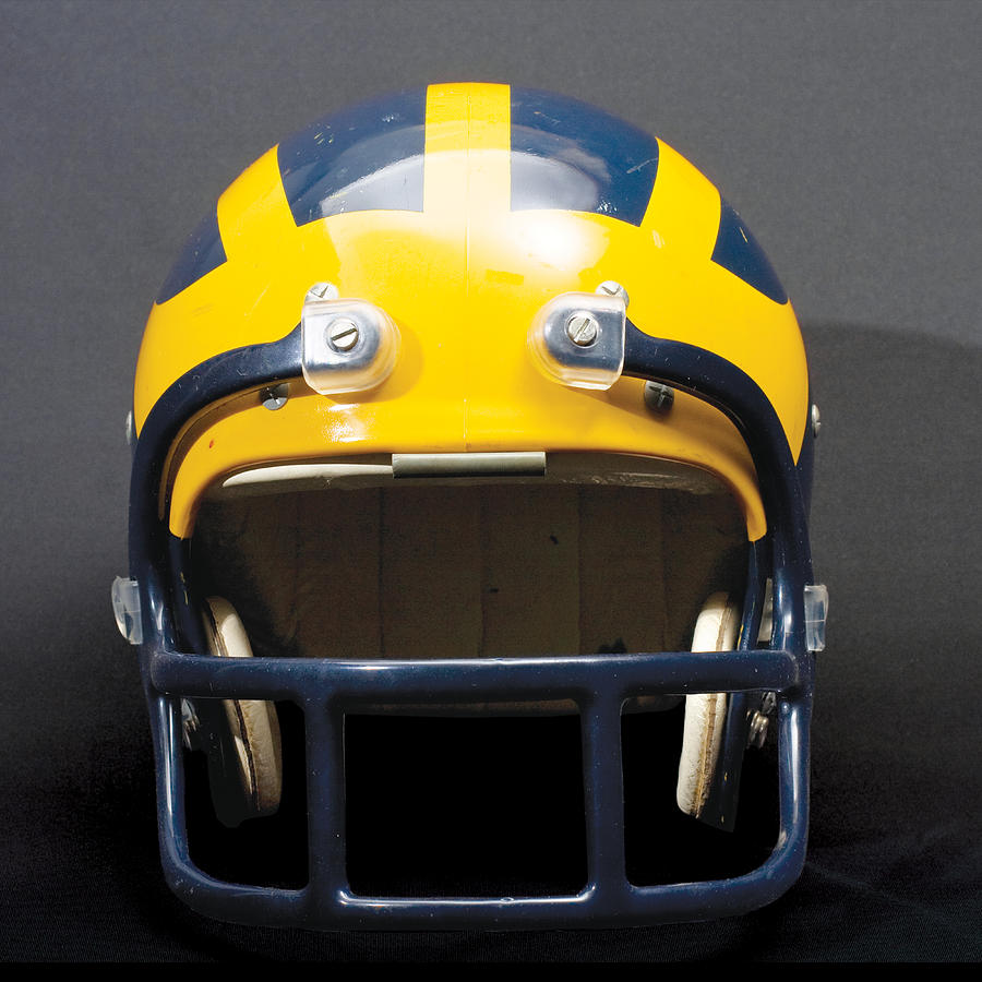 1970s Wolverine Helmet by Michigan Helmet