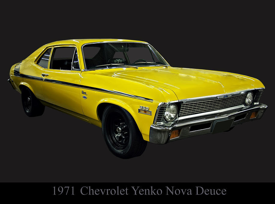 Cars Photograph - 1971 Chevy Nova Yenko Deuce by Chris Flees