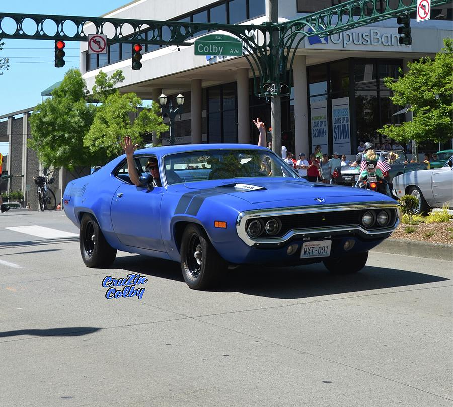 Plymouth Roadrunner Hedman Photograph By Mobile Event Photo Car - Car show photography