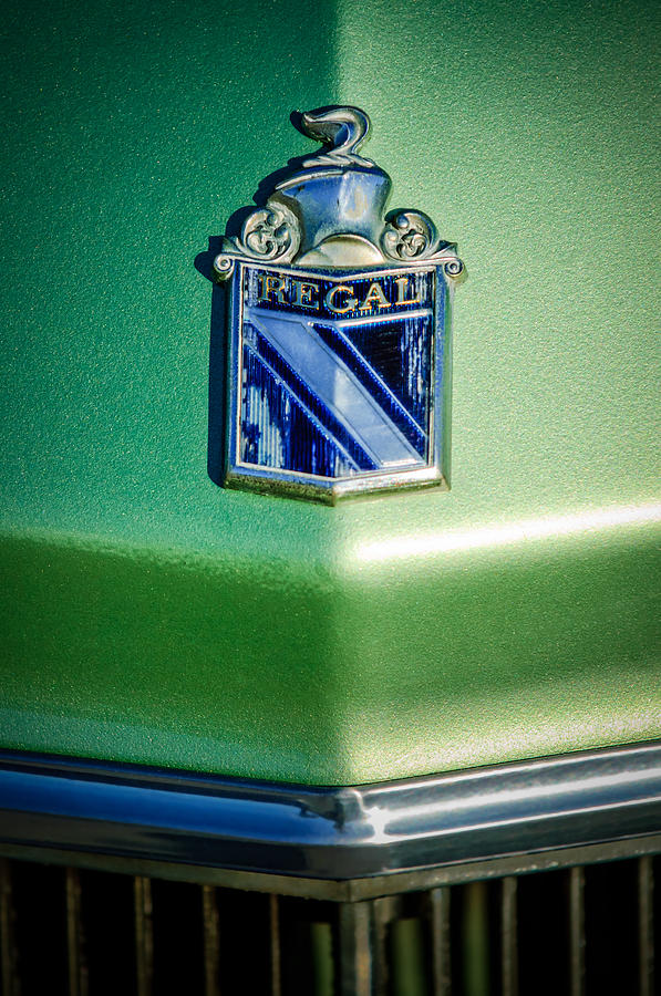 1973 Buick Regal Photograph - 1973 Buick Regal Hood Ornament by Jill Reger