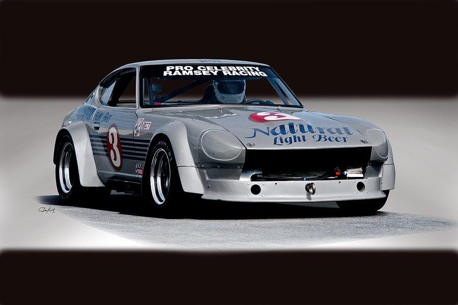 1973 Datsun 240z Gt Vintage Racecar Photograph by Dave Koontz