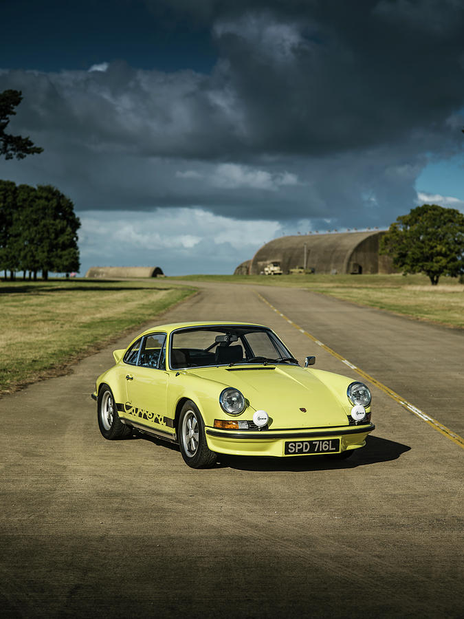 d946cba54b 1973 Porsche 2.7 Rs Photograph by George Williams