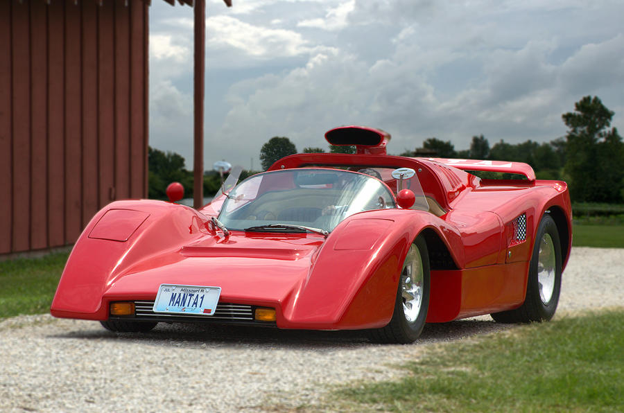 1974 Manta Mirage With Buick 215 Cubic Inch V8 Photograph By Tim Mccullough