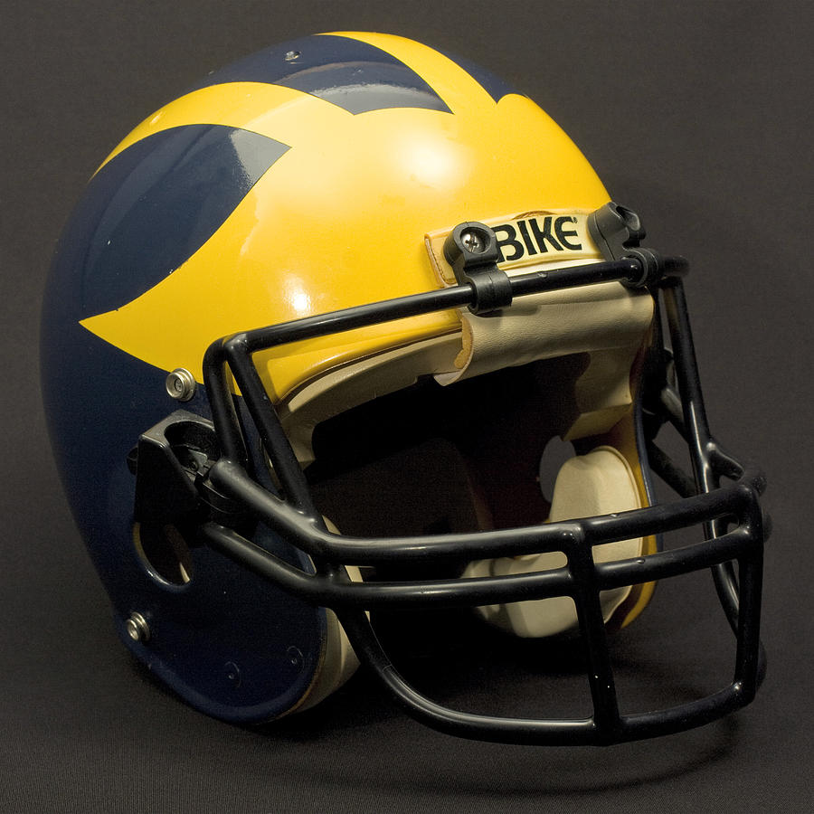 1980s Wolverine Helmet by Michigan Helmet
