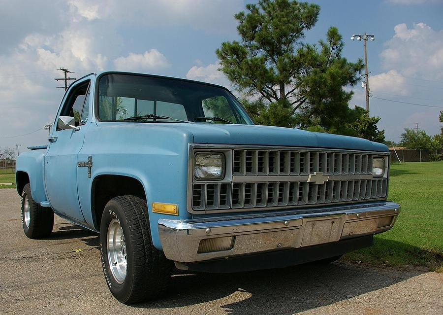 1982 Chevrolet C10 Pickup Photograph by Randy Sherman