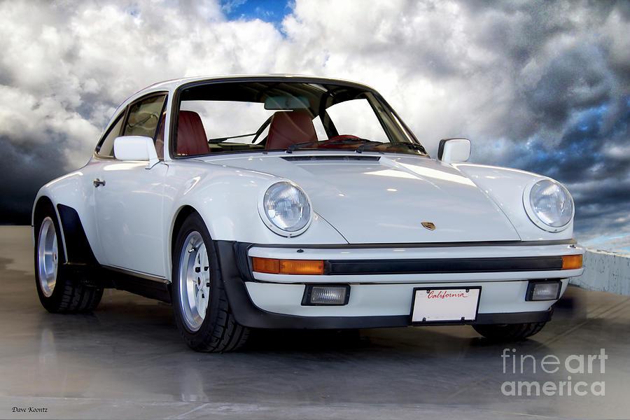 1982 Porsche 911 Turbo 930 Ii Photograph By Dave Koontz