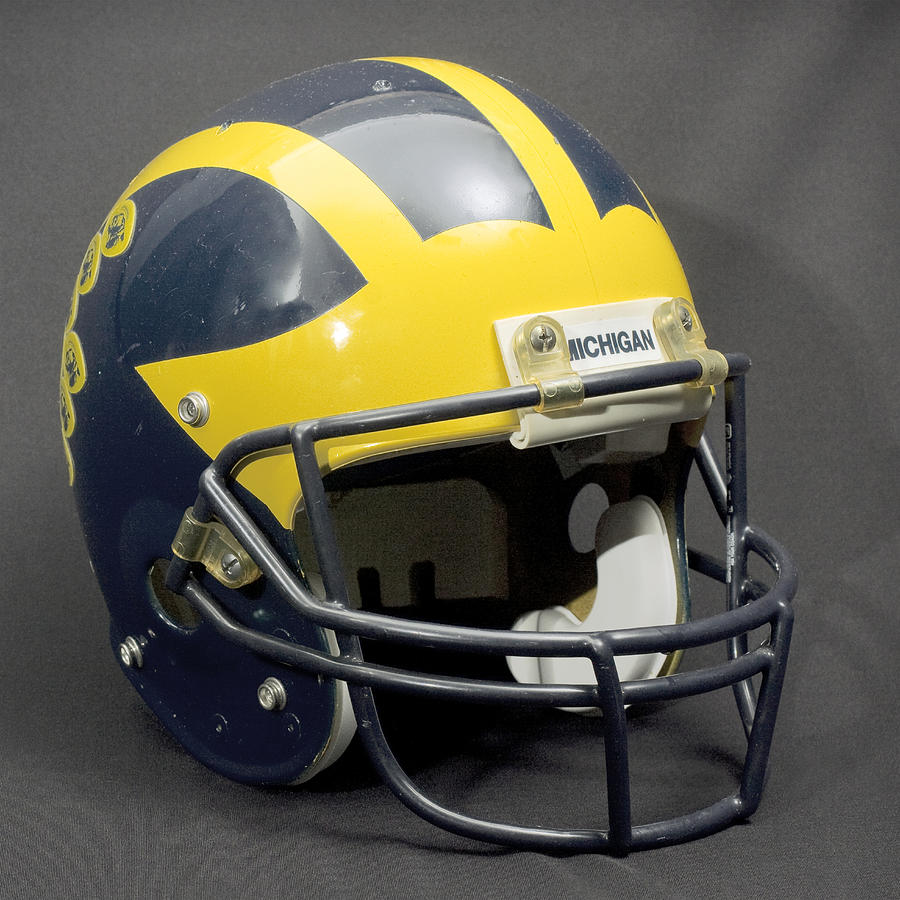 1990s Wolverine Helmet by Michigan Helmet