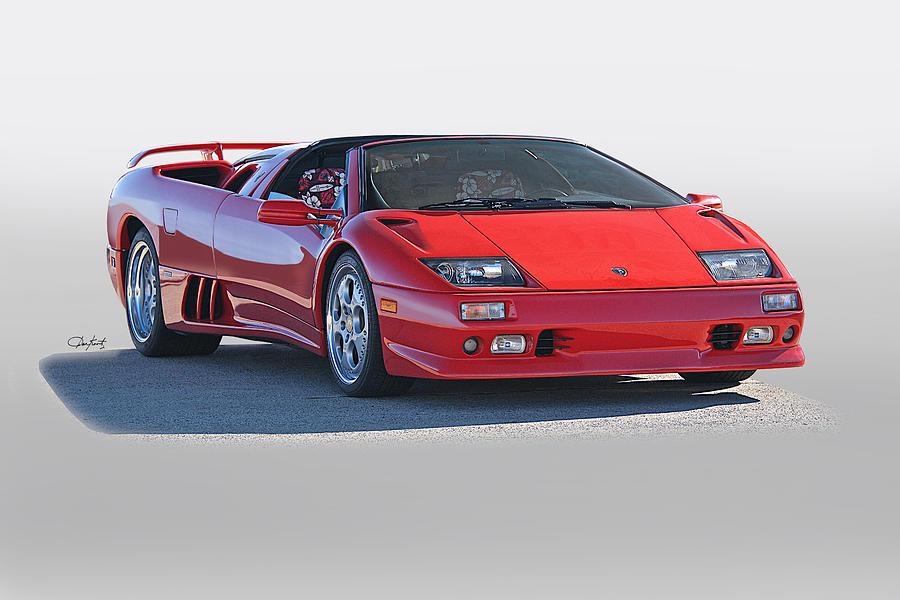 1999 Lamborghini Diablo Vt Photograph By Dave Koontz