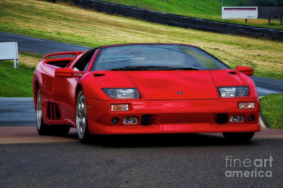 1999 Lamborghini Diablo Vt I Photograph By Dave Koontz