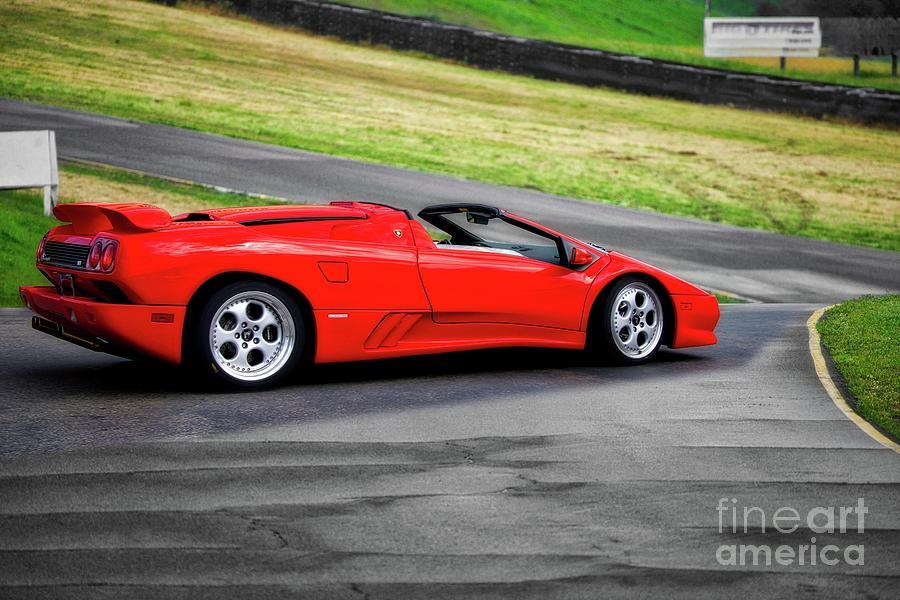 1999 Lamborghini Diablo Vt Ii Photograph By Dave Koontz