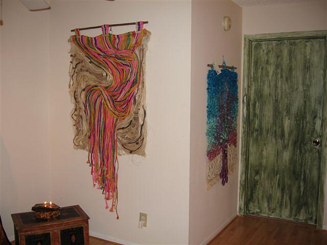 1aurora Boreal 2 Arco Iris De Carnaval Tapestry - Textile by Eugenia Padilla