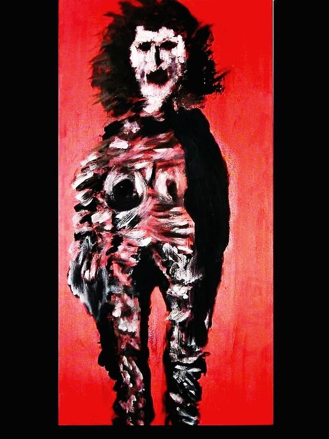 Symbolik Painting - -ohne Titel- by Despina Papadopoulou