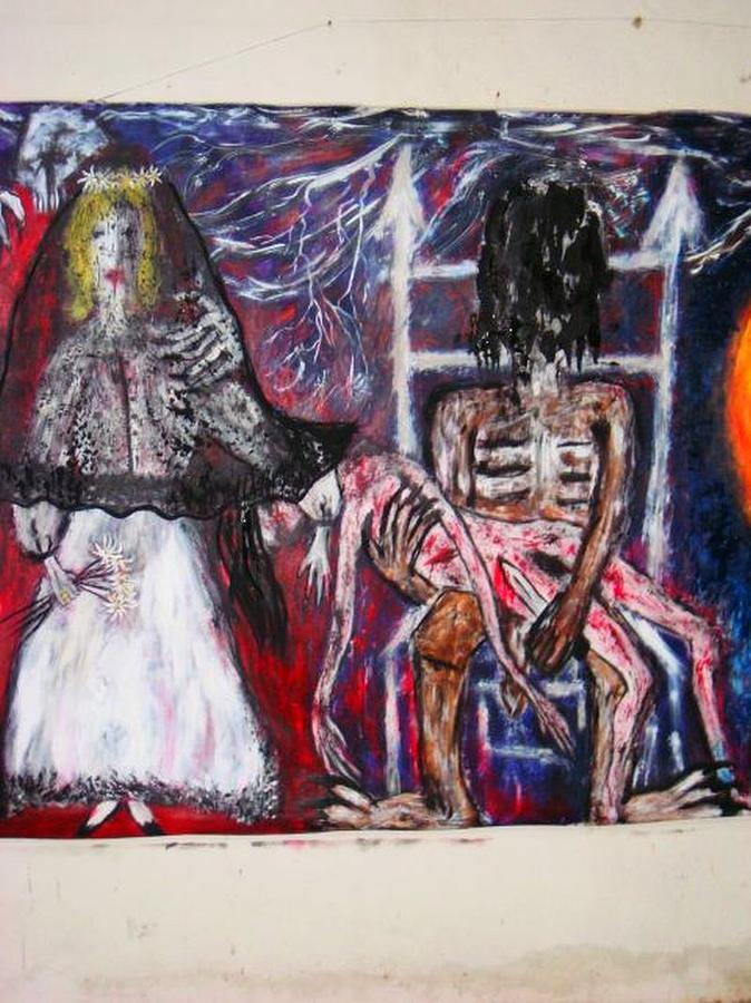 Symbolik Painting - -passion- by Despina Papadopoulou