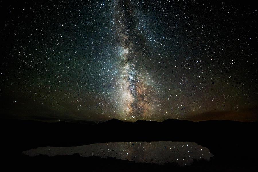 2 1/2 Mile High Milky Way Photograph