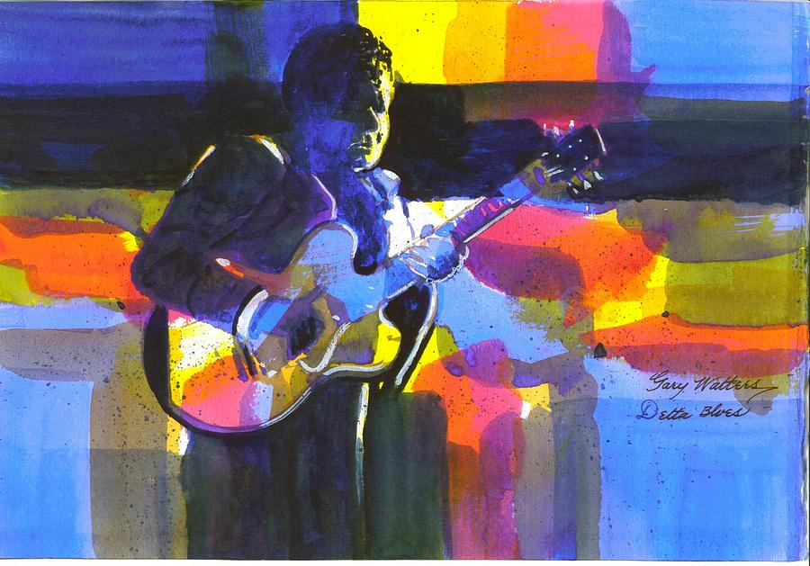 Delta Blues Print by Gary Walters