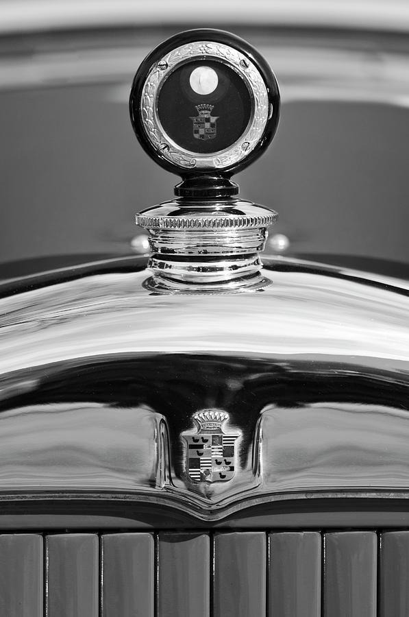Radiator Cap Photograph - 1926 Cadillac Series 314 Custom Hood Ornament by Jill Reger