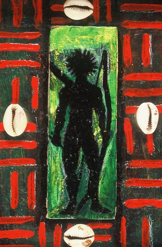 Malik Seneferu Painting - 4ward Afrika by Malik Seneferu