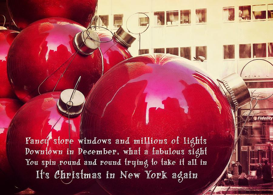 New York Photograph - 6th Avenue Quote by JAMART Photography