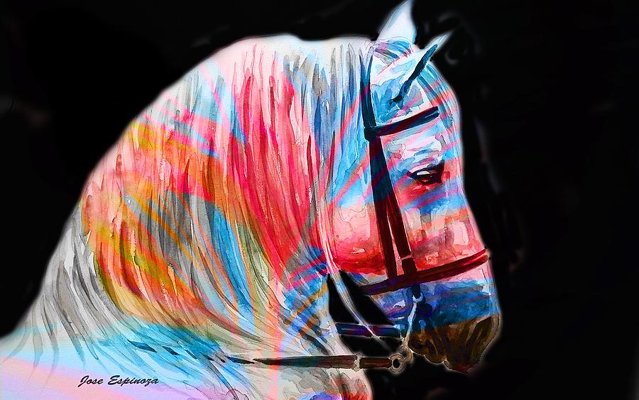 Cavallo Digital Art - Y . K  .  R .  A  . N by J U A N - C H A M A N
