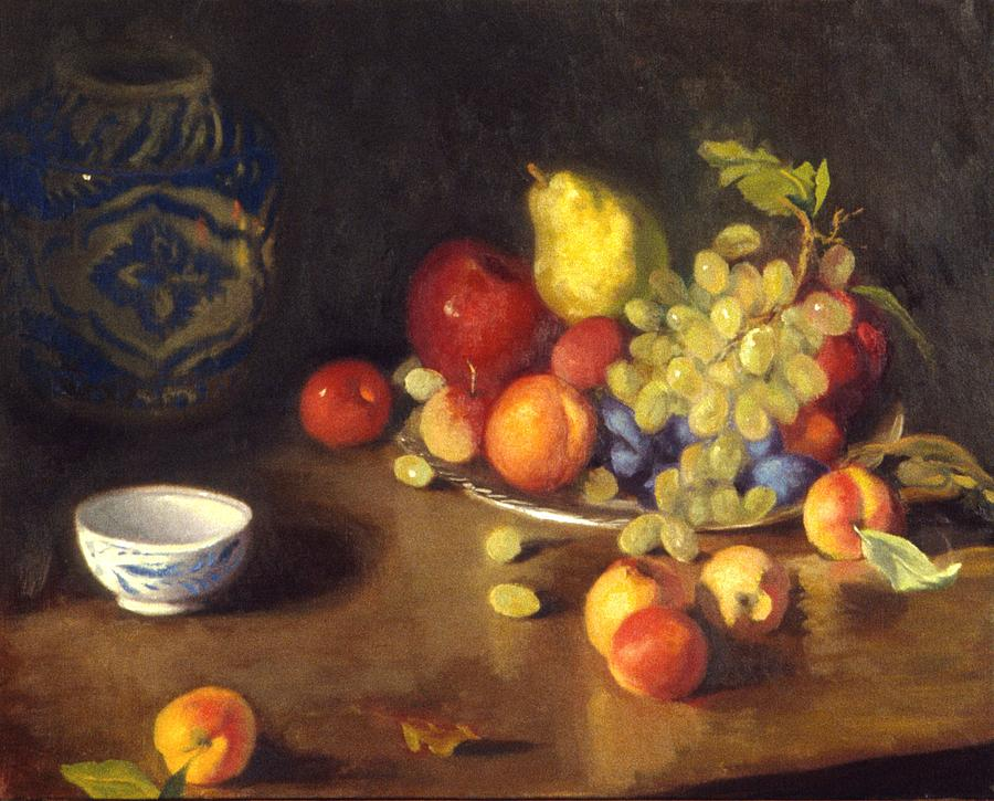 Still Life Painting - Abundance Of Fruit by David Olander