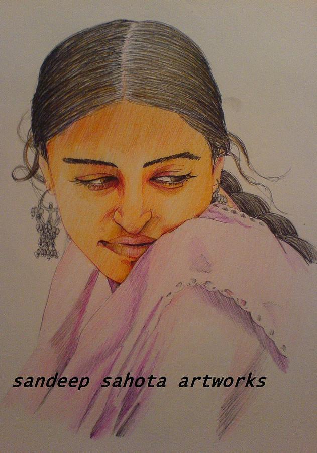 Tom Cruise Painting - Aishwariya Rai Bachchan by San Art Studio