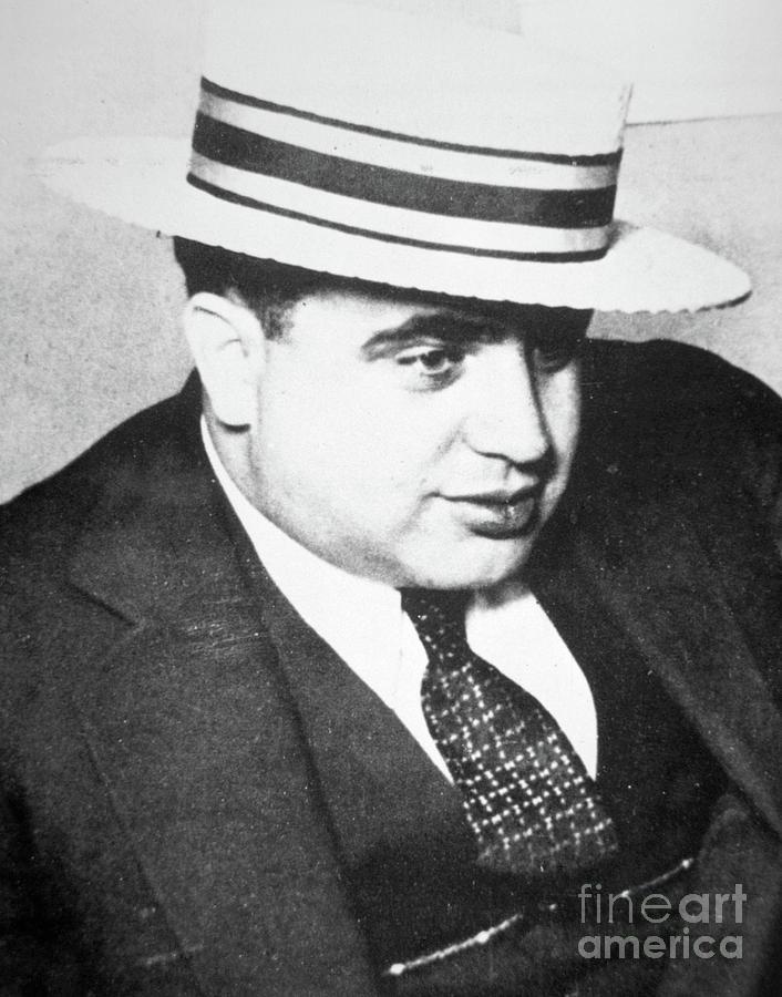 Al Capone Photograph - Al Capone by American School