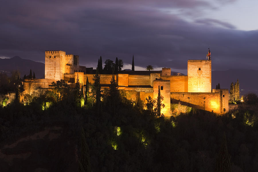 Alhambra Photograph - Alhambra by Andre Goncalves